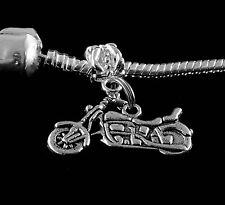 Motorcycle charm  Motorcycle jewelry  Fits European  bracelet  jewelry gift