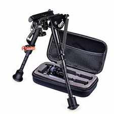 Zeadio 6 - 9 inches Extendable Tactical Bipod with Sling Mount and Zippered Case