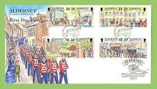 Alderney 1998 Garrison Island Part II set on GPO First Day Cover