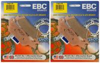 EBC Brake Pads FA617R (2 Packs - Enough for 2 Rotors)