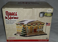 """Enesco """"Miracle On 34th Street"""" Illuminated """"Courthouse"""" Building."""