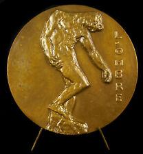 Médaille sculpture l'ombre les tuileries Auguste Rodin 1967 A Lavrillier medal