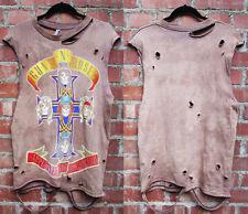 Guns N Roses  mens  bleached distressed shirts tank top  S-XL