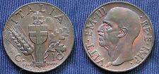 MONETA COIN REGNO ITALIA VITTORIO EMANUELE III CENTESIMI 10 IMPERO 1940 XVIII°EF