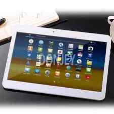 10 Pollici Tablet PC Quad Core 4x 1,5mhz * 32gb * Android 2x slot SIM BIANCA #5235