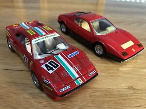 Vintage Burago - 1/24 Scale Ferrari's GTO (1984), 512 BB Job Lot