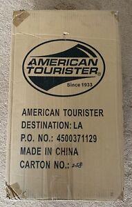 American Tourister Solitude 3.0 Royal Blue/Grey 3 PC Set - NEW