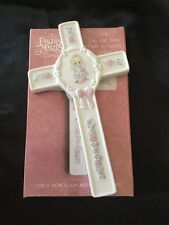 Precious Moments Porcelain Keepsake Cross First Communion Girl 230545