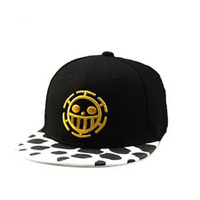 Trafalgar Law Skull Head Baseball Cap One Piece Hat Anime Face Logo Cosplay Gift