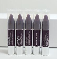 Lot 5 x Clinique Chubby Stick Moisturizing lip Color balm 16 Voluptuous Violet