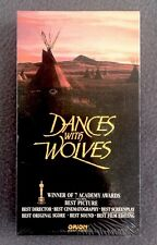 Dances with Wolves Starring Kevin Costner (VHS, 1990) Sealed