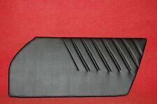 Porsche 911 912 912e 930 964 Factory Style Door Panels Black Vinyl