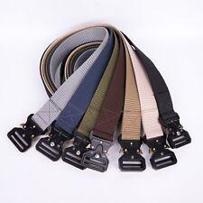 Informal Milicia Táctica de Combate para hombre correa pretina rescate Rigger cinturones 7 Colores