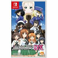 Girls UND Panzer Dream Tank Match DX Multi LNG ENGLISH SUBTITLES Nintendo Switch
