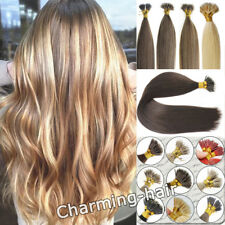 Nano Ring Beads Tip Double Drawn Real Remy Human Hair Extensions 1g/s 14/24Inch