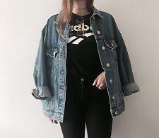 Reebok classics black logo t-shirt size XS
