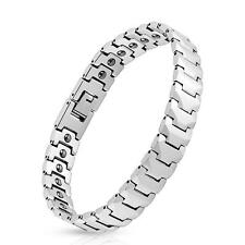 "Panther Link Tungsten Carbide Bracelet Thick .14"" Length .27"" Width .49 K309"