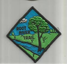 BSA ☆ ROOT RIVER Trail Wisconsin Scout ☆ Round PATCH