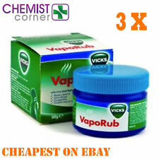3 Packs Of Vicks Vaporub 100g