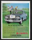 TOYOTA MOTOR COMPANY JAPAN 1965 CROWN SEDAN THE CAR WITH EVERYTHING GOLFERS AD