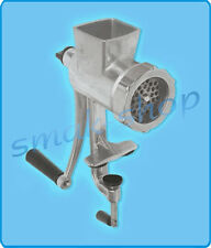 Manual Cast Iron Meat Grinder Chopper Mincing Machine Mincer Table Hand Crank