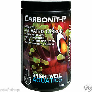 Brightwell Carbonit P 500gm Pelletized Activated Carbon for Clean Aquarium Water