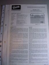 C716/ Graetz Kundendienst Technische Info; UKW Transistor-K.Empf. PAGINO L 43 C