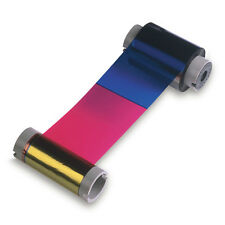 Fargo Ribbon HDP5000 YMCKK - 500 Prints 84052 Fargo Color Ribbon NEW