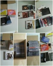 001B Lot 2 56 Empty CD Jewel Cases Original Back Artwork