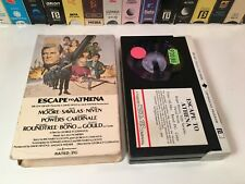 * Escape To Athena Comedy Action Betamax NOT VHS 1979 Roger Moore Beta Magnetic
