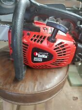 Redmax Chainsaw G3100t Runs, brake not working. 16 in New bar and chain