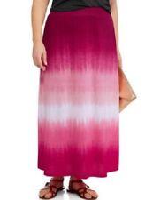 Faded Glory Tie Dyed Maxi Skirt Plus Size 3X 22W 24W