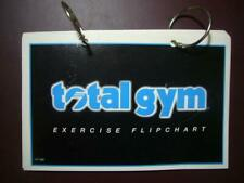 Total Gym Exercise Flip Chart