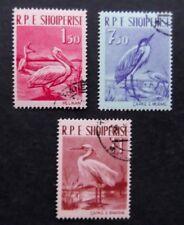 Albania-1961-Water Birds set-Used