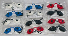 Super Sunnies Classic - UV Tanning Goggles - FDA Approved - 4 Colors - 12 pack