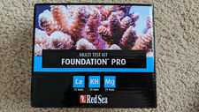 Red Sea Foundation Pro Test Kit Coral Reef Aquarium SEE DESCRIPTON