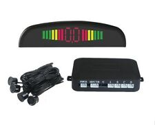 4 Sensors Mit LED Display Car Reverse Parking Assistance Radar Buzzer Alarm Kit