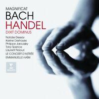 Philippe Jaroussky - Bach - Magnificat and Haendel - Dixit Dominus / [CD]
