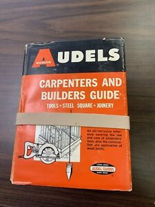 Audels Carpenters and Builders Guide 1-4 1966 tools plans millwork