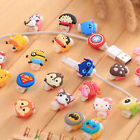 10Pcs 4mm Max Cartoon USB Charger Cable Saver Protector for iPhone 5s 6+6s6s+ 7