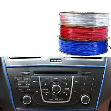 5M Car DIY Blue Bright trim resin Interior Body Dashboard Decoration Universal