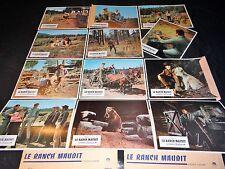 LE RANCH MAUDIT clint walker   jeu 12 photos cinema lobby cards western 1966