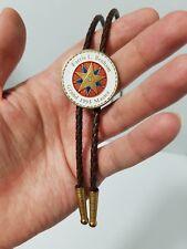 1995 Bolo Tie Grand Master Mason Lodge of Texas Brotherhood Masonic