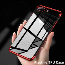 For iPhone 7 Plus Luxury Ultra Thin Clear Soft TPU Gel Rubber Back Case Cover