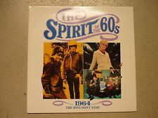 The Spirit Of The 60s: 1964 The Hits Don't Stop Searchers Hollies TIME LIFE 2LP