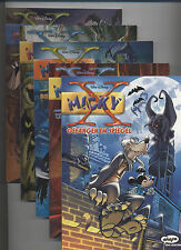 MICKY (MAUS) X # 1 + 2 + 3 + 4 + 5 KOMPLETT - EHAPA COMIC COLLECTION 2003 - TOP