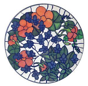 Mármol Blanco Café Table Top Precioso Mosaico Artes Floral Interior Hogar W052