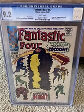 Fantastic Four #67 1967 CGC 9.2 WHITE Pages 1st appearance Warlock GOTG3!?