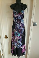 Lipsy Maxi Party Floral Print Embelished Dress Uk6 RRP160 BNWT. Summer/Holiday