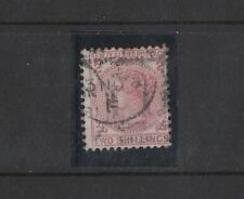 1878 New Zealand Victoria 2/- deep rose SG 185 fine used perf toning